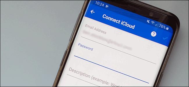 Hướng dẫn cách thiết lập email iCloud trên điện thoại Android