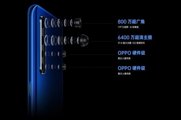 Oppo K5 ra mắt với chip Snapdragon 730G và camera 64 MP