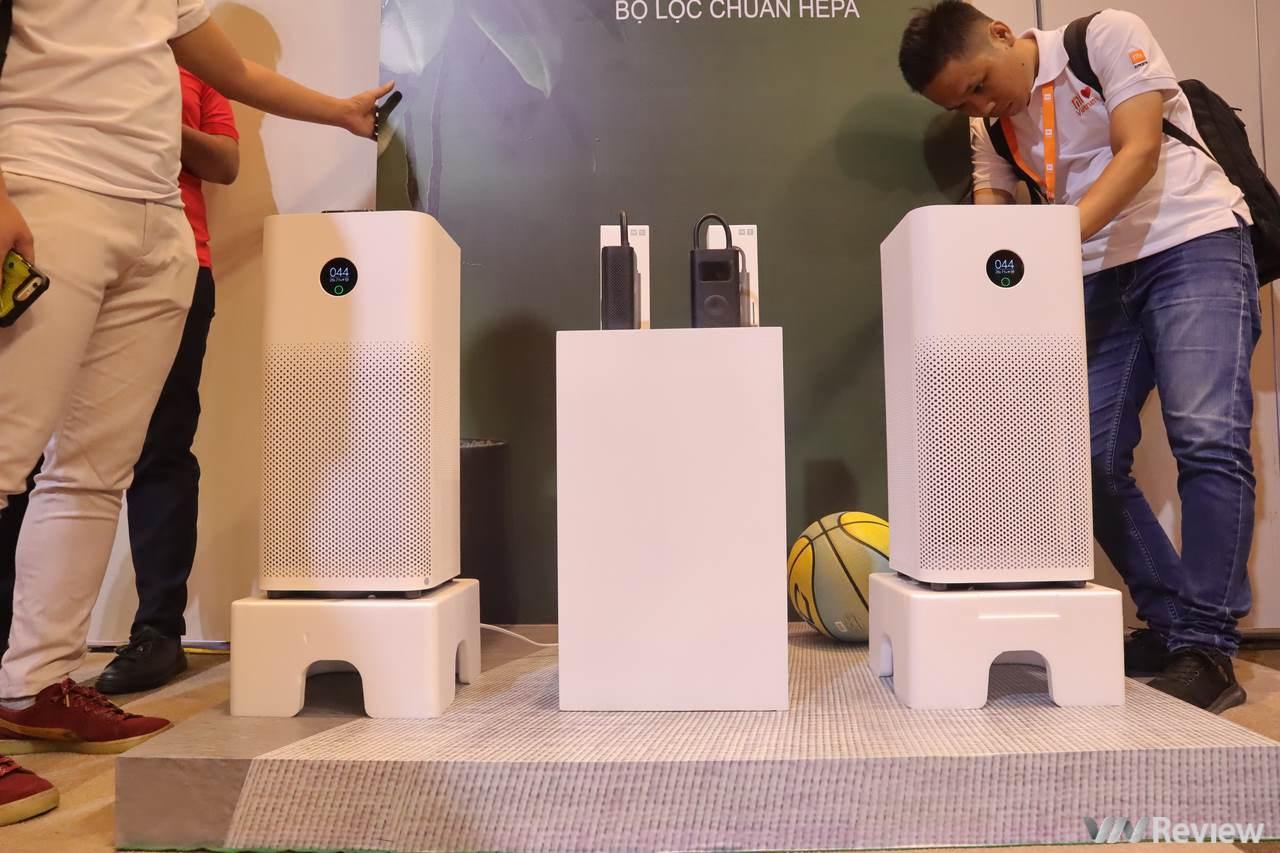Xiaomi bất ngờ ra mắt máy lọc không khí Mi Air Purifier 3H và máy bơm điện cầm tay Mi Electric Air Compressor tại VN