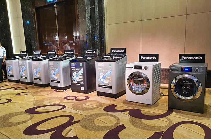 Panasonic giới thiệu giải pháp diệt khuẩn BlueAg mới trên tủ lạnh và máy giặt 2019