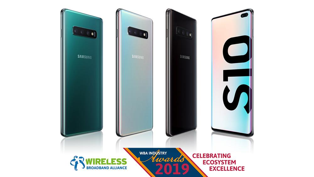 """Samsung giành giải thưởng """"Cải tiến Wi-Fi tốt nhất"""" nhờ Galaxy S10"""