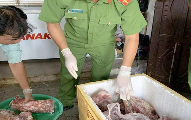 Thịt lợn giả thịt bò