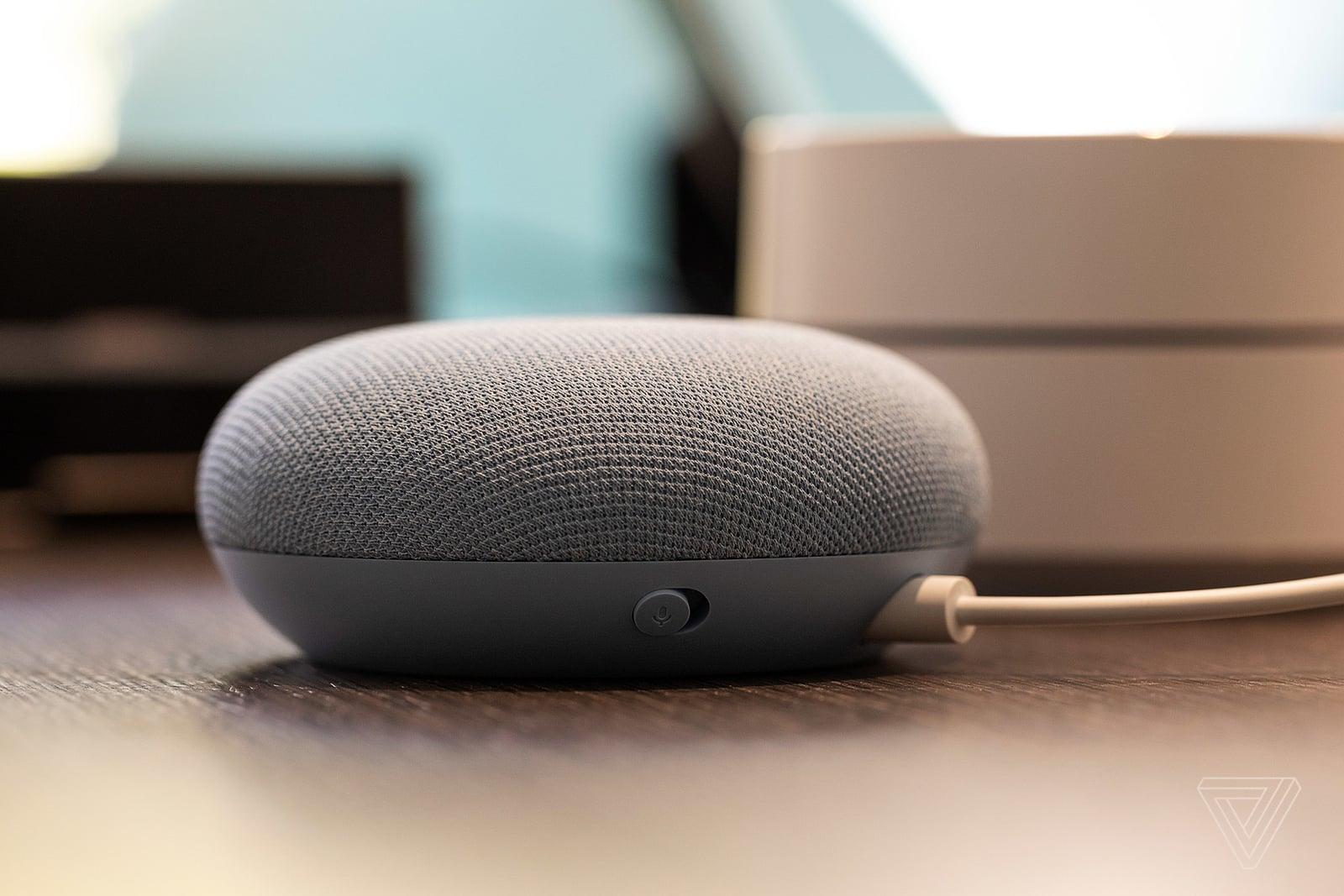 Google giới thiệu loa thông minh Nest Mini mới