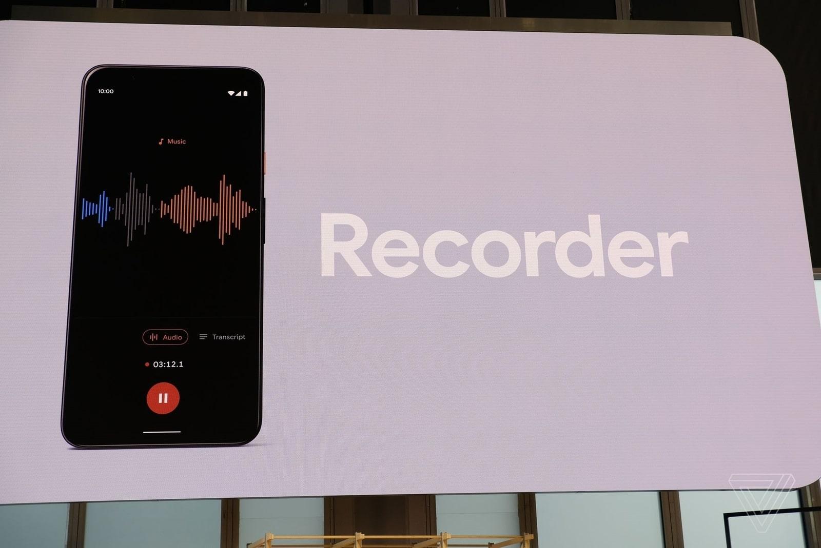 Pixel 4 có thể chuyển lời nói thành text không cần kết nối Internet