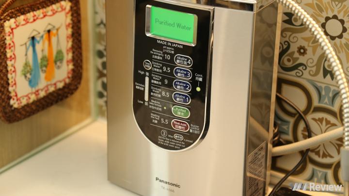 Đánh giá máy lọc nước điện giải ion kiềm Panasonic TK-AS66: Thiết ...