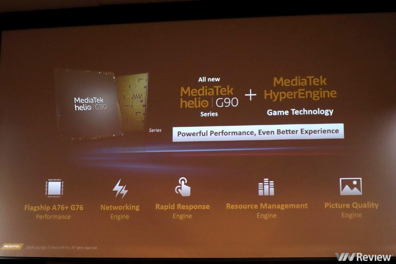 """MediaTek """"khoe"""" vi xử lý Helio G90 và G90T ở VN: mô phỏng chuyển động, nhận dạng giọng nói, tối ưu Game, AI, 5G"""