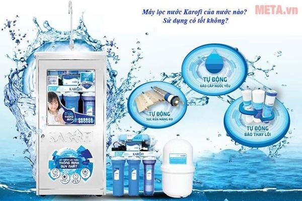 Máy lọc nước Karofi là thương hiệu nước nào, có tốt hay không?