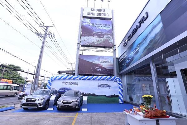 Subaru khai trương 3 đại lý ủy quyền mới trong tháng 10 ở VN