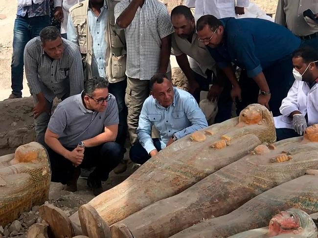 Phát hiện 30 xác ướp Ai Cập được bảo quản hoàn hảo suốt 3.000 năm