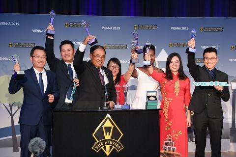 Viettel giành giải tại 10 hạng mục của Giải thưởng Kinh doanh Quốc tế 2019