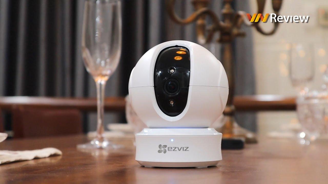 Đánh giá camera an ninh 360 độ EZVIZ C6CN: Quay đêm rất ổn, tự động bám theo chuyển động