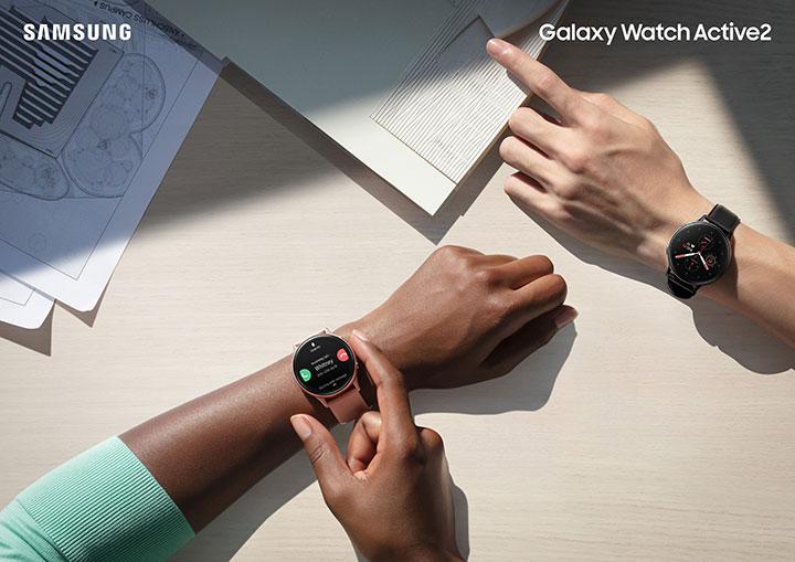 Đồng hồ Galaxy Watch Active2 lên kệ tại Việt Nam: vòng xoay số, có ECG, giá 7,49 đến 10 triệu đồng
