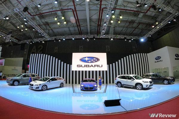 Subaru ra mắt xe mới tại Vietnam Motor Show 2019