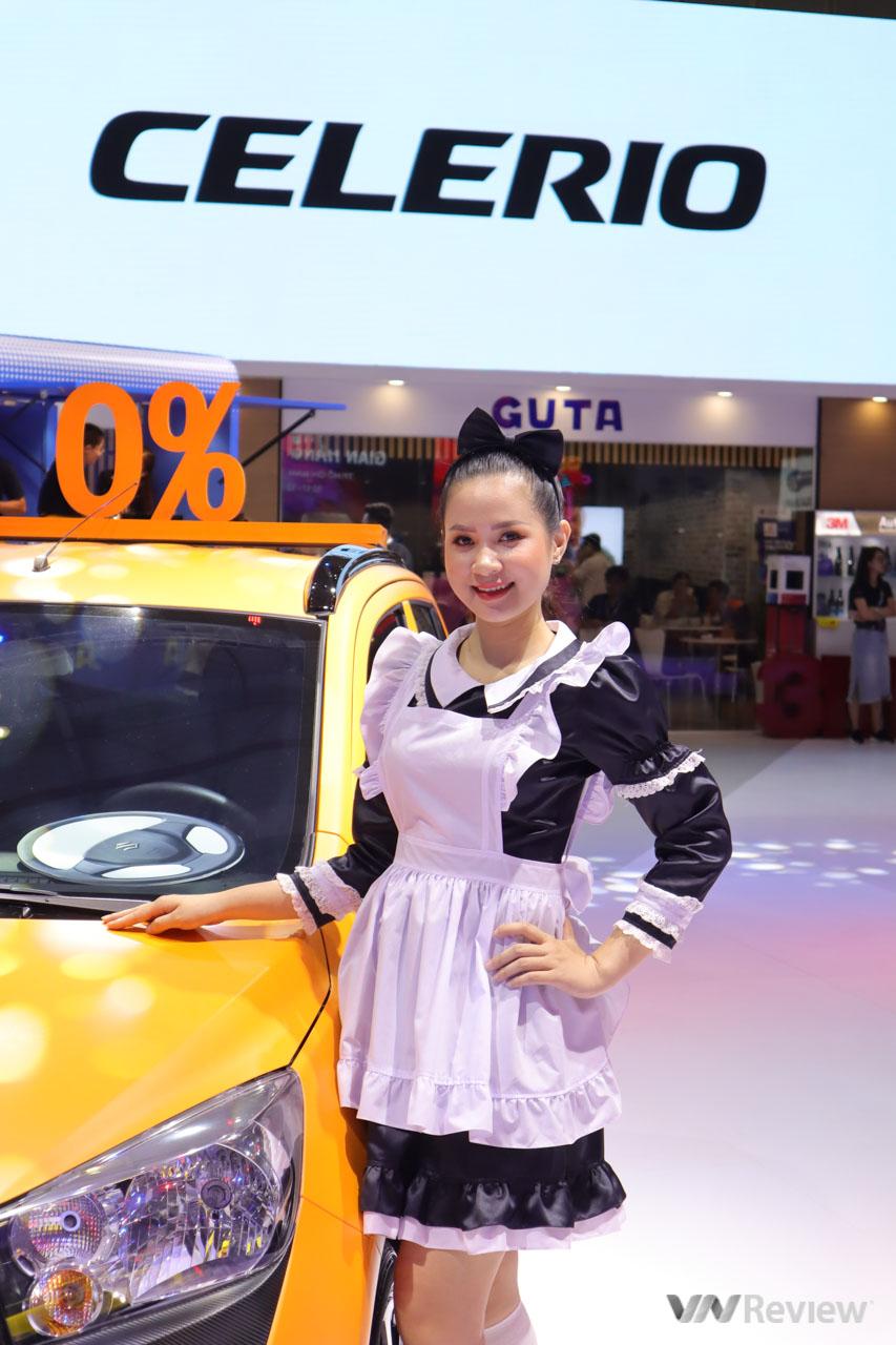Bóng hồng Vietnam Motor Show 2019