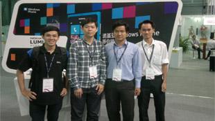 Sinh viên ĐHBK TP.HCM mang game đi dự Mobile Asia Expo 2012