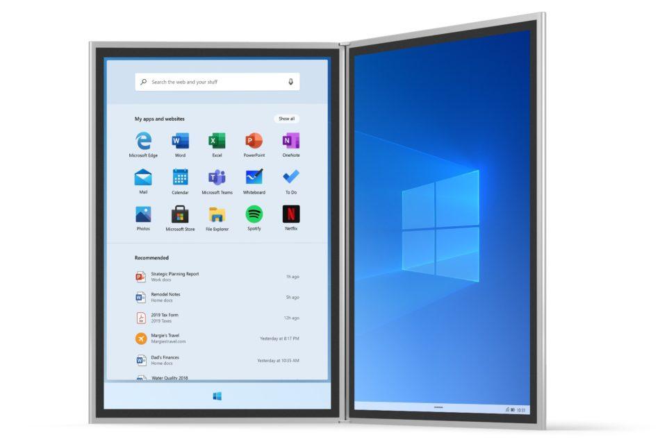 Tài liệu rò rỉ từ Microsoft cho thấy Windows 10X sẽ xuất hiện trên cả laptop