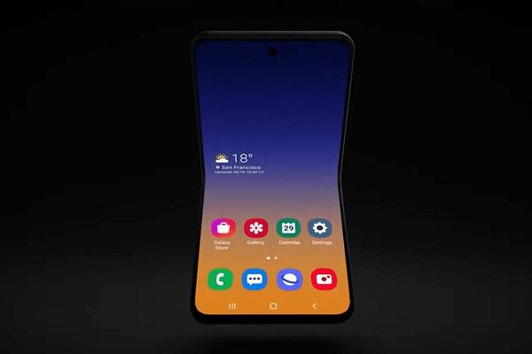 """Samsung bật mí về một điện thoại màn hình gập khác nhưng là theo kiểu """"vỏ sò"""""""