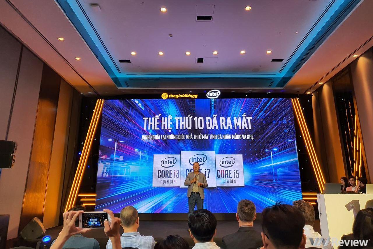 """Intel """"liên thủ"""" với Thế Giới Di Dộng trình làng vi xử lý Intel Core thế hệ 10 tại VN: đã có sẵn 36 mẫu laptop mới sẵn sàng lên kệ"""