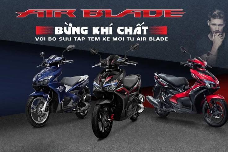 Xe Air Blade ABS 150cc sắp ra mắt có giá bao nhiêu?