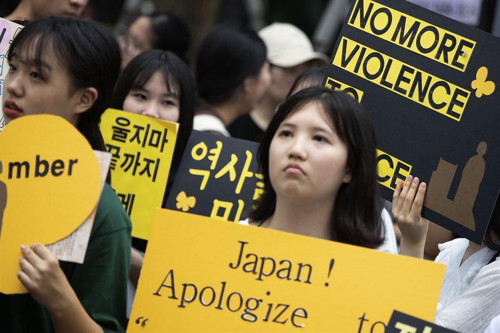 Người trẻ Hàn Quốc sử dụng mạng xã hội như nào để giữ phong trào bài Nhật tồn tại?