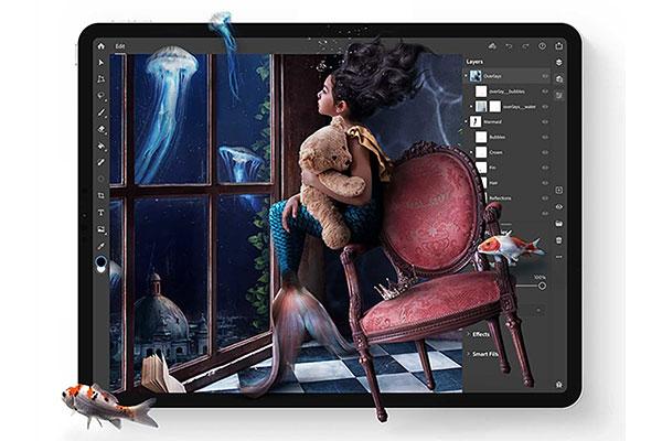 Adobe Photoshop cho iPad chính thức phát hành