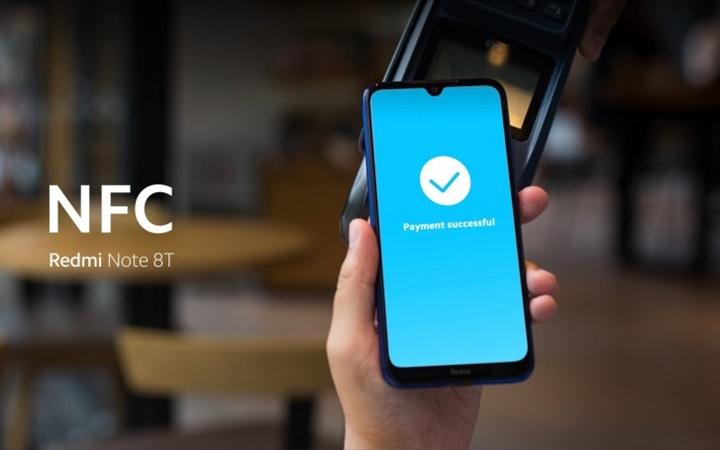 Redmi Note 8T ra mắt, hỗ trợ NFC và sạch nhanh 18W