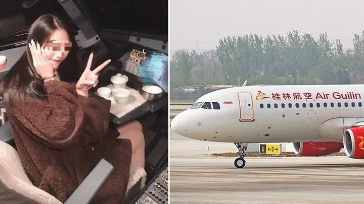 Một phi công tại Trung Quốc bị cấm bay vĩnh viễn vì để nữ hành khách vào khoang lái