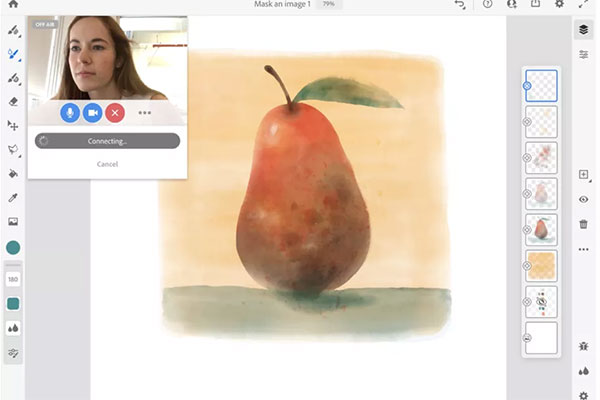 Adobe Photoshop, Illustrator sắp có tính năng livestream