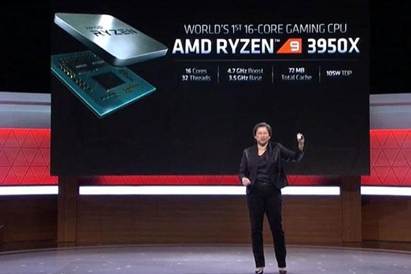 AMD ra mắt CPU Ryzen 16 nhân giá chỉ 750 USD