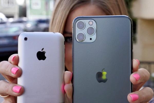 iPhone 11 Pro và... iPhone đời đầu khác nhau như thế nào?