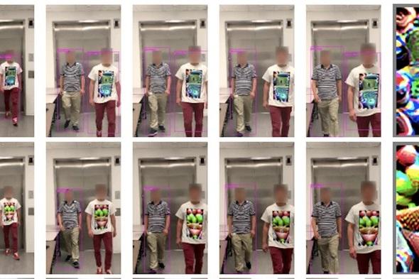 """Chiếc áo thun cực """"ngầu"""" này sẽ giúp bạn """"vô hình"""" trước AI"""