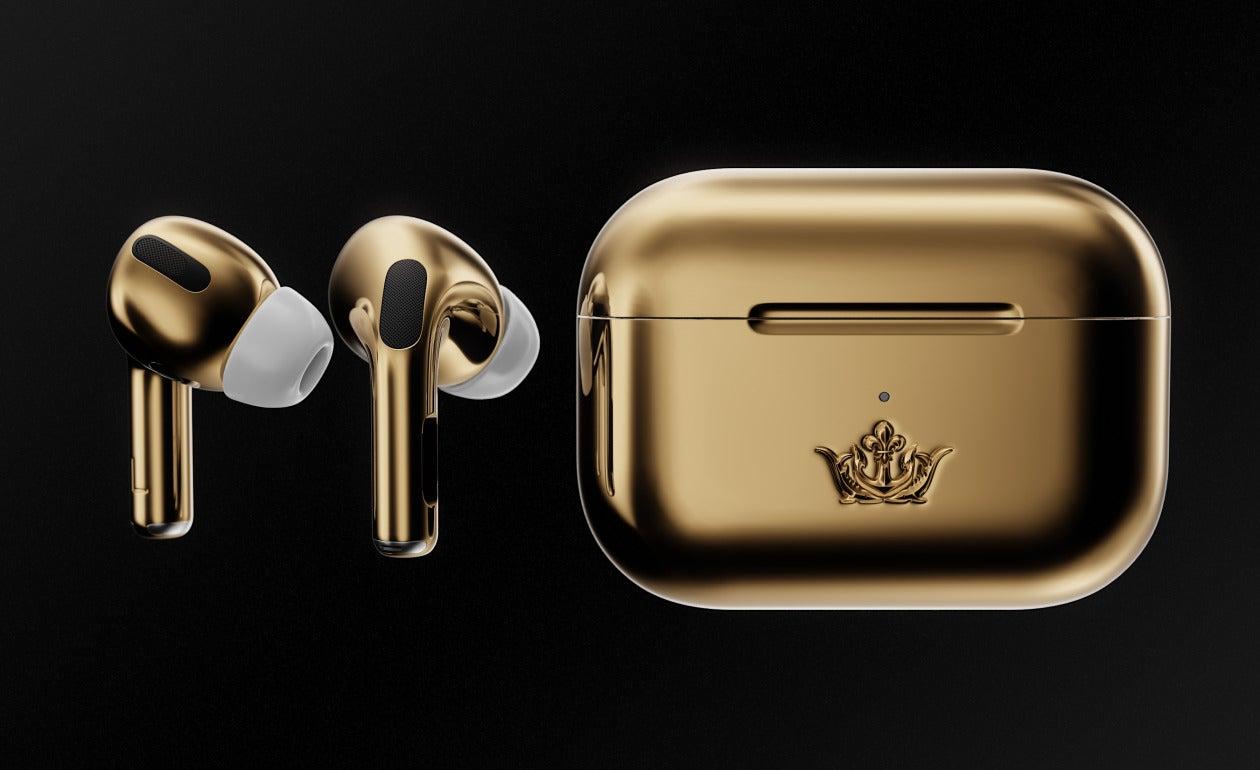 Cardia tung ra phiên bản AirPods Pro Gold Edition được làm bằng vàng, giá 67790 USD
