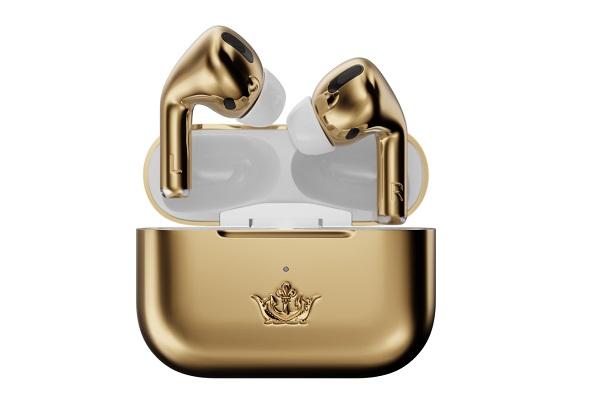 Lóa mắt với phiên bản AirPods Pro Gold Edition được làm bằng vàng, giá 1,58 tỉ đồng