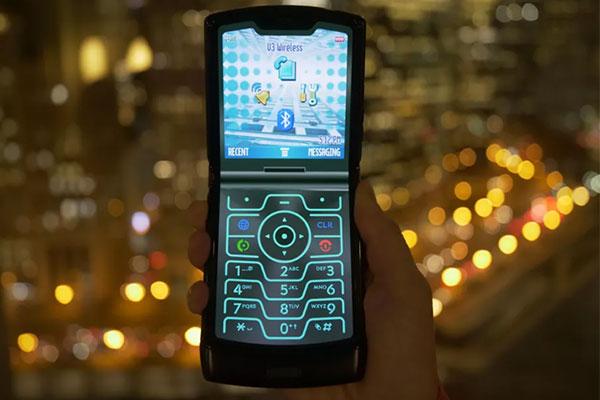 Chế độ đặc biệt trên Motorola Razr: Biến bản 2019 thành 2004