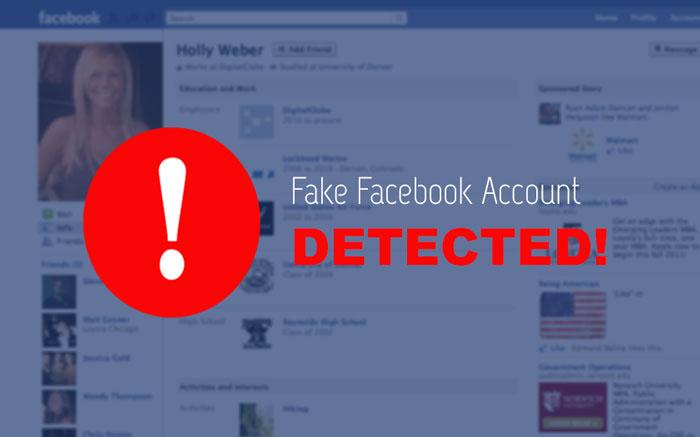 tài khoản giả facebook