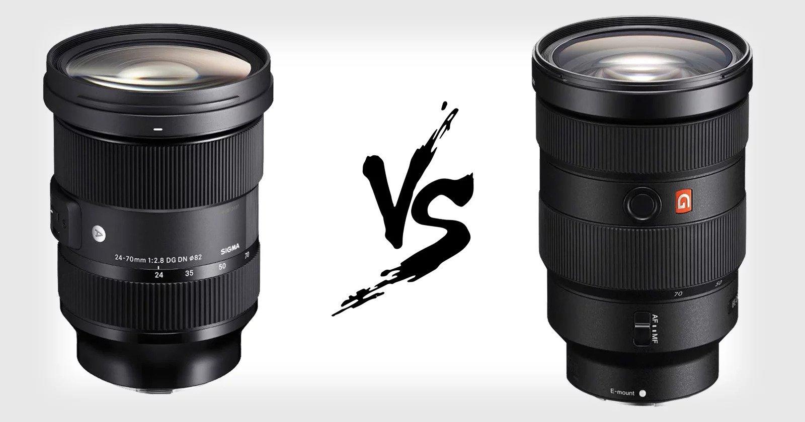 Sigma ra mắt ống kính 24-70mm f/2.8 ngàm E, giá chỉ bằng một nửa bản gốc của Sony