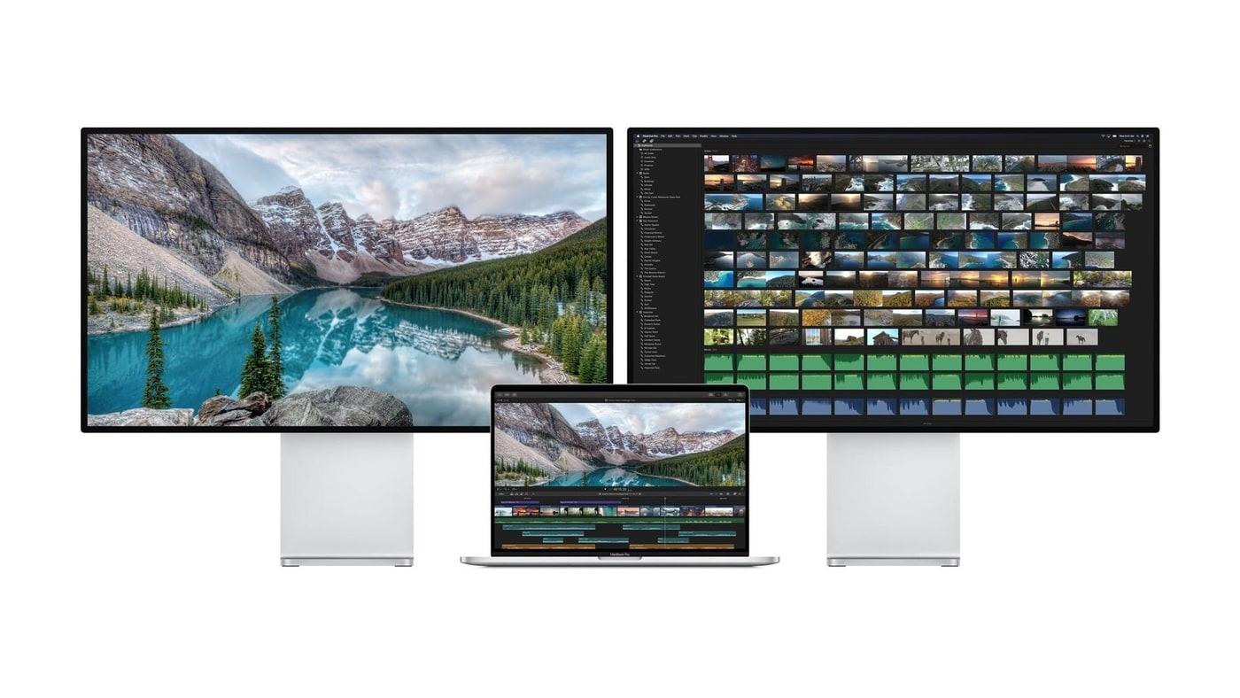 MacBook Pro 16-inch hỗ trợ xuất tín hiệu ra hai màn hình ngoài độ phân giải lên đến 6K cùng lúc