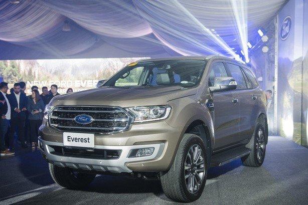 Ngắm ảnh thực tế cặp đôi Ford Ranger và Everest vừa ra mắt