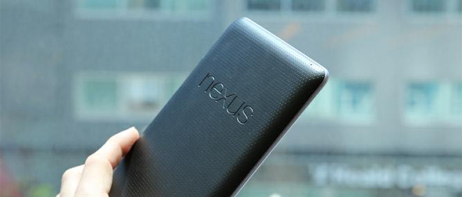 Trên tay máy tính bảng Google Nexus 7