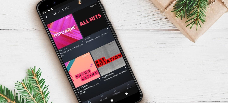 Dịch vụ nghe nhạc Amazon Music có bản miễn phí trên iOS, Android và Fire TV