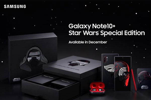Samsung ra mắt Galaxy Note 10+ Star Wars, giá hơn 30 triệu đồng
