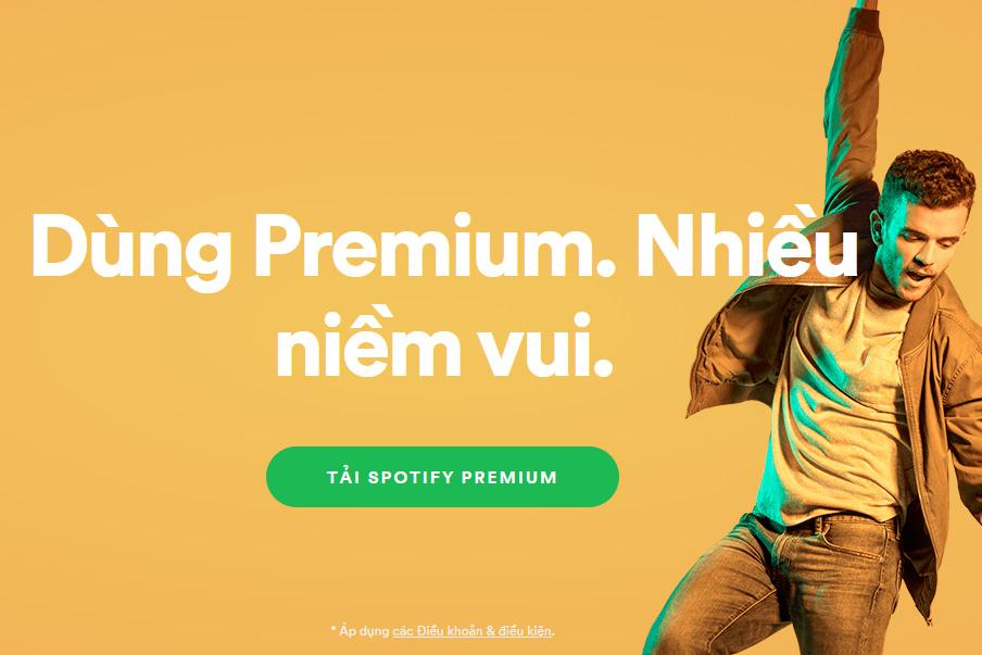 Spotify tiếp tục tung ưu đãi gói Premium nhân mùa lễ hội cuối năm, giá còn 59 nghìn đồng cho 3 tháng