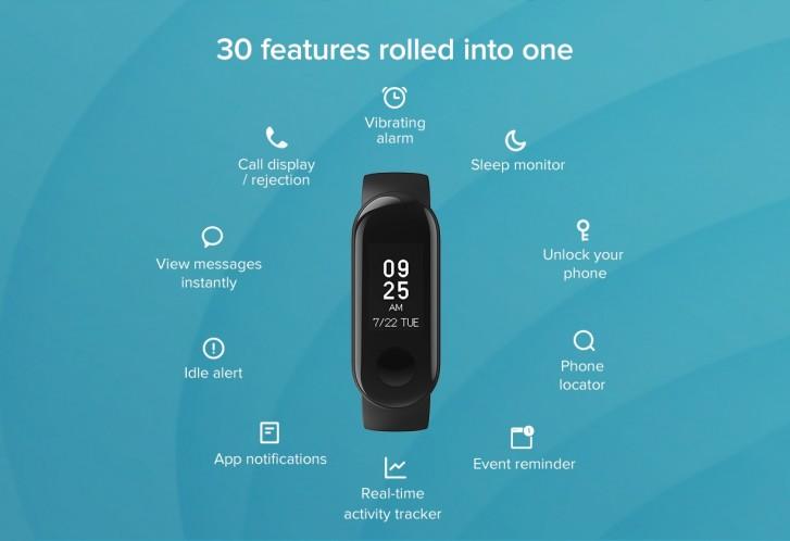 Xiaomi Mi Band 3i ra mắt tại Ấn Độ: không có theo dõi nhịp tim, giá cực rẻ