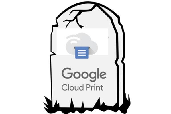 Dịch vụ in đám mây Google Cloud Print sẽ bị khai tử vào 2020
