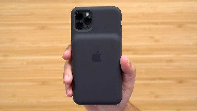 Trên tay ốp lưng pin Smart Battery Case mới của Apple cho flagship iPhone 11 Pro Max