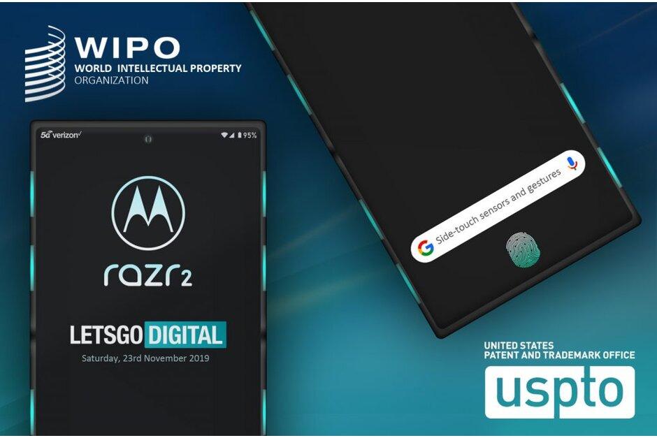 Motorola RAZR 2 sẽ có cảm biến cạnh bên và vân tay trong màn hình