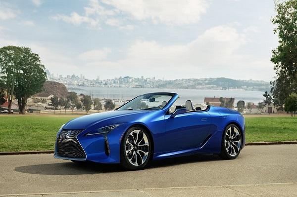 Lexus ra mắt LC500 Convertible