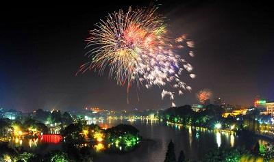 Tết nguyên đán 2020 Hà Nội bắn pháo hoa tại tất cả quận, huyện