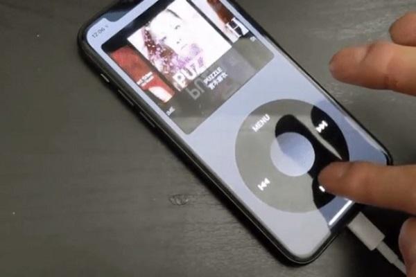 """""""Trở về tuổi thơ"""" với ứng dụng click wheel như iPod cho... iPhone"""