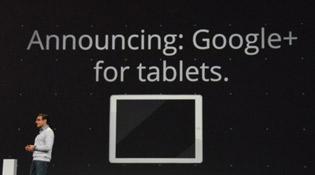 Ra mắt Google+ cho máy tính bảng Android, iPad sẽ sớm có
